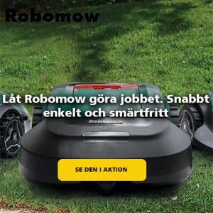 Köp din Robomow robot gräsklippare på Verkstan i Öxnered
