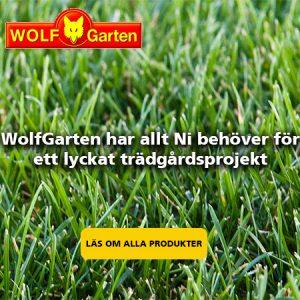 Köp trädgårdsutrustning från Wolfgarten på Verkstan i Öxnered